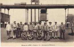 Mines De Lens Fosse N°4 Groupe De Mineurs - Lens