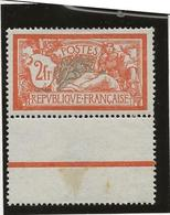 TYPE MERSON N° 145 NEUF XX BORD DE FEUILLE  -ANNEE 1907 - COTE : 150 € - 1900-27 Merson