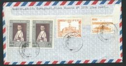 Lsc Du Pérou Pour La Suisse Vers 1962 ( Oblitération Mal Venue )    Bb15903 - Peru