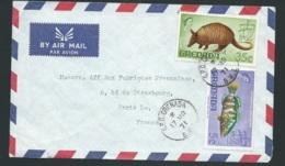 Lsc DE GRENADE      AFFRANCHIE POUR LA FRANCE   EN 1971   Bb15920 - Grenade (1974-...)