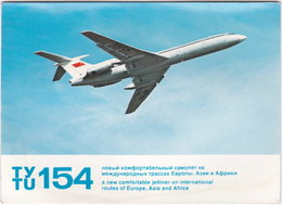 Gf. SOVIET AIRLINES. Ty Tu 154 - 1946-....: Moderne