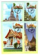 9841 Thailand MK Mi 3132-35 Tempel - Thaïlande