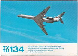 Gf. SOVIET AIRLINES. Ty Tu 134 - 1946-....: Moderne
