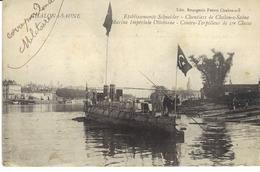 Etablissements Schneider Chantier De Chalon Sur Saone Marine Impériale Ottomane - Chalon Sur Saone