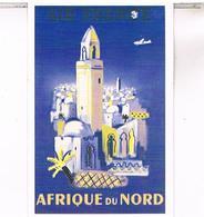 PUBLICITE AIR FRANCE  AFRIQUE  DU NORD       CPM   TBE  MA09 - 1946-....: Moderne