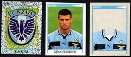FOOTBALL - PANINI - CALCIATORI 1998/1999 - LAZIO - SCUDETTO / STANKOVIC / CAMBIO MAGLIA - STICKERS - Calcio