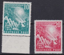 BRD     .     Yvert  .    1/2       .   **    .   Postfrisch    .    /    .   MNH - [7] République Fédérale