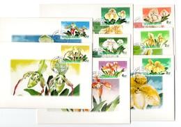 9844 Thailand MK Mi 1464-71 Orchideen - Thaïlande