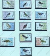 Iles Salomon, Yvert 202/211B+227, Scott 265/274B+294, SG 280/289a+289b, MNH - Samoa