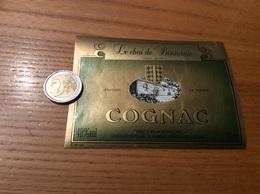 Etiquette Type 2 «COGNAC - Le Chai De Bonnemie - ST-PIERRE D'OLERON (17)» - Etiquettes