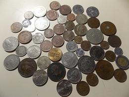 Lot 100 Coins Mostly Portuguese - Monnaies & Billets