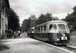POC Train Autorail Billard En Gare De Treignac 653.12 - Ed BVA - Treignac