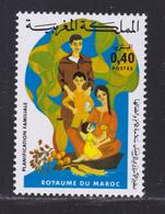 MAROC N°  752 ** MNH Neuf Sans Charnière, TB (D8232) Planification Familiale - 1976 - Morocco (1956-...)