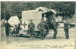 49 - Angers  : Auto Ambulance ( Croix Rouge ) - Angers