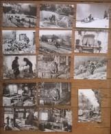 Lot De 20 Cartes Postales / Série LES VIEUX METIERS /Les Vosges /  Photo Joël Couchouron - Paysans