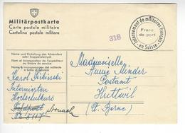 SIRNACH CENSURE CENSOR WW2 SUISSE INTERNES CAMP INTERNEMENT /FREE SHIP. R - Storia Postale