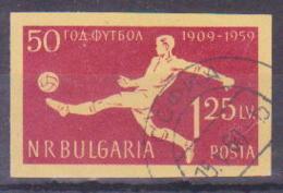 69-304 / BG - 1959  50 YEARS FOOTBALL In BULGARIA   Mi 1136 O - 1945-59 People's Republic