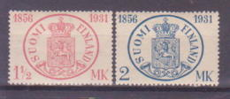 69-368 / FINLAND - 1931  75 YEARS FINISH POST Mi 167/68 ** - Finlande