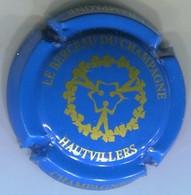 CAPSULE-CHAMPAGNE HAUTVILLERS N°48x Bleu Clair Et Or-NR - Autres