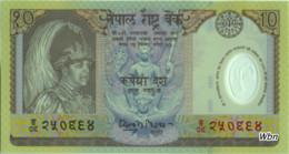 Nepal 10 Rupee (P45) 2002 -UNC- - Népal