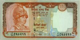 Nepal 20 Rupee (P55) 2005 Sign 16 -UNC- - Népal