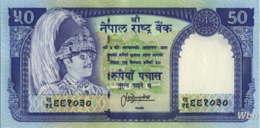 Nepal 50 Rupee (P33c) Sign 13 -UNC- - Népal