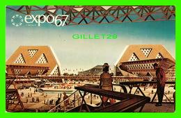 EXPO67 - PAVILLONS THÉMATIQUES, MONTRÉAL, QUÉBEC - No EX 118A - - Expositions