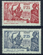 Wallis And Futuna, New York World's Fair, 1939, MH VF  A Pair - Unused Stamps
