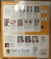 Yvert Et Tellier - RECHARGES FUTURA C30 REF.1634 (3 Bdes Verticales) (pqt De 5 Feuilles) - Albums & Binders