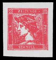 Occupazione Austriaca - Lombardo Veneto: Francobolli Per Giornali / Testa Di Mercurio (6 K = 30 Cent.) Rosso - 1856 - Lombardo-Venetien