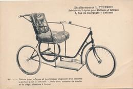 CPA - France - (45) Orléans - Etablissement L. Tournois - Voiture Pour Infirmes Et Paralytiques - Orleans