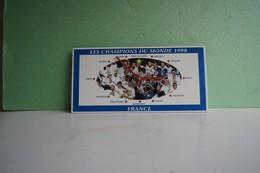 Jan19   83693    Pendule Publicitaire    Champion Du Monde 1998 De Foot - Autres Collections