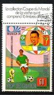 GUINEE EQUATORIALE. Timbre Oblitéré De 1974. Munich'74/Pelé. - 1974 – Germania Ovest