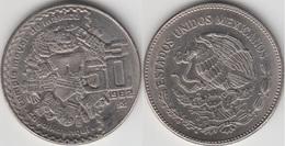 Messico 50 Pesos 1982 (Coyolxauhqui Mayor Temple) KM#490 - Used - Messico