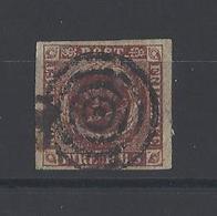 DANEMARK.  YT  N° 2  Obl  1851-54 - 1851-63 (Frederik VII)