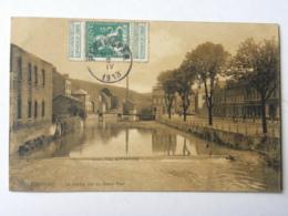 CPA BELGIQUE - Pepinster - La Vesdre Vue Du Grand Pont - Pepinster