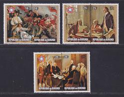 BURUNDI AERIENS N°  429 à 434 ** MNH Neufs Sans Charnière, TB (D8234) Tableaux, 200 Ans Indépendance Des USA - 1976 - Burundi
