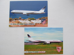 Spain Atletico De Madrid And Sevilla / Privilege Style / Boeing - 1946-....: Moderne
