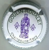 CAPSULE-CHAMPAGNE GOULIN-ROUALET N°24 Incs Sur Contour Blanc - Autres