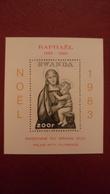 Rwanda 1987 - Christmas - Perf Sheet Deluxe - Mi 101 A MNH - Masters Art Paintings Raphael Noel - Rwanda