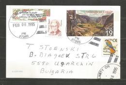 CANYON DE CHELLY - USA -  Traveled POST CARD To BULGARIA    - D 3358 - Ganzsachen