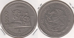 Messico 5000 Pesos 1988 (50th Anniversary - Nationalization Of Oil Industry)KM#531 - Used - Mexique