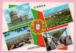 Postcard - Lisboa, 1972., Portugal ( Air Mail / Par Avion ) - Lisboa