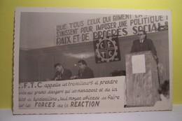 SYNDICAT  - C.F.D.T.    - La C.F.D.T.  Appelle Les Travailleurs - Political Parties & Elections
