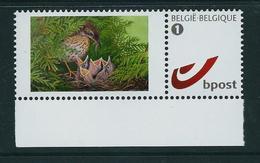 Duostamp  Neuf (**)   Avec N° 4084  Oiseaux Au Nid - 1985-.. Oiseaux (Buzin)