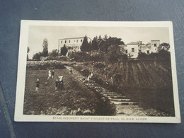 Cpa Etablissement Saint-Vincent De Paul, EL-BIAR. ALGER. - Alger