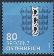 Autriche 2018 Sans Gomme Used Blason De Bregenz Coat Of Arms - 1945-.... 2ª República