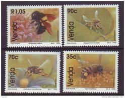 D101225 Venda 1992 South Africa BEES INSECTS MNH Set- Afrique Du Sud Afrika RSA Sudafrika - Venda