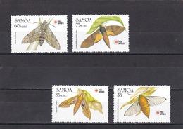 Samoa Nº 730 Al 733 - Samoa
