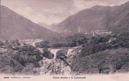 Ponte Brolla E Le Centovalli (10695) - TI Tessin